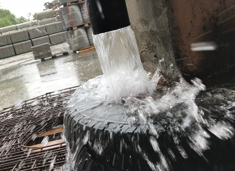 Det sløses rått med vannet her i landet!
